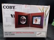 COBY Digital Picture Frame DIGITAL PHOTO FRAME DP-5588